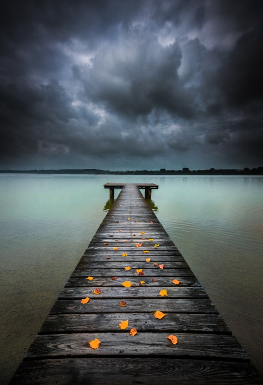 Approaching storm, Ammersee