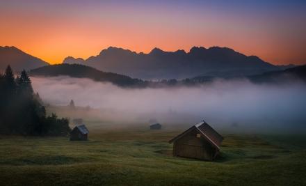 Bavarian dawn